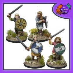 Shieldmaiden Warriors with Swords
