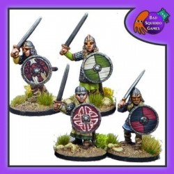 Shieldmaiden Hearthguard with Swords