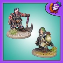 Dwarf Captain and Thief