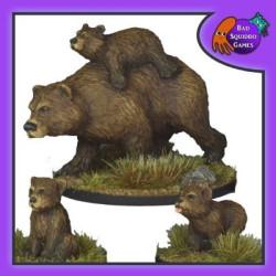 Bear Mum and Cubs