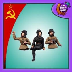 Tank Commanders (pack of 3)