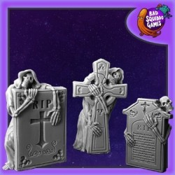 Haunted Tombstones