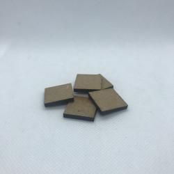 25mm MDF-bas, fyrkantig