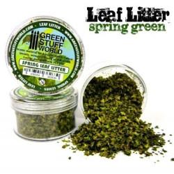 Leaf Litter - Spring Green