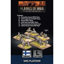 SMG Platoon (x46 Figs)
