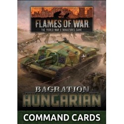 LW Hungarian Command Card Pack (33x Cards)
