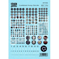 Infinity Decals - Combined Army