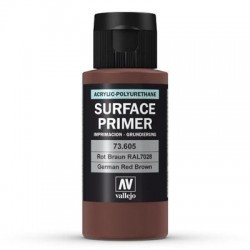 60ml Primer : German Red Brown