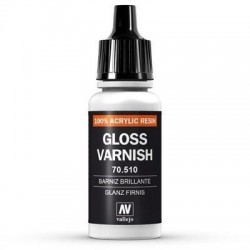 Gloss Varnish 17ml, Acrylic