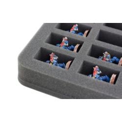 Feldherr 35 mm (1.38 Inch) slot foam with base - half-size