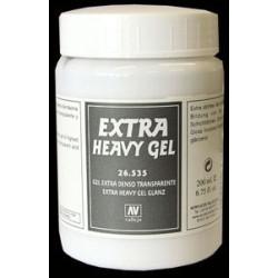 Extra Heavy Transparent Gel 200ml