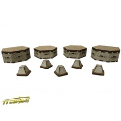 Bunkers and Tank Traps (15mm)