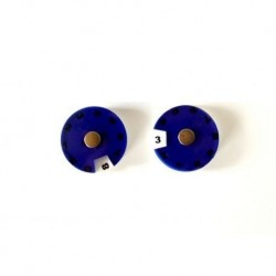 Simple Dials, Blue x2