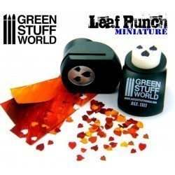 Miniature Leaf Punch : DARK GREEN