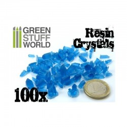 Resin Crystals : Blue