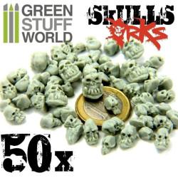Resin Ork Skulls x50