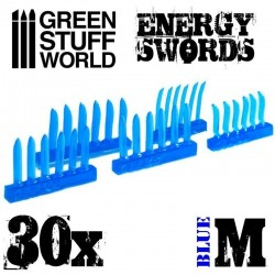 BLUE Energy Swords - Size M
