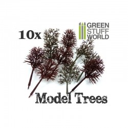 Model Tree Trunks x10