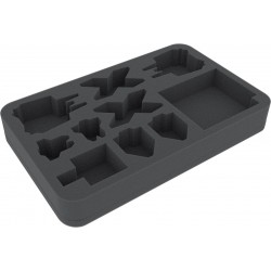 Feldherr 40 mm foam tray for X-Wing StarViper, M3-A Interceptor, IG-2000, Z-95 and Y-Wing