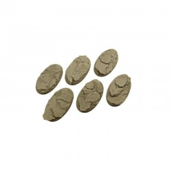 Shale Bases, Oval 60mm (4)